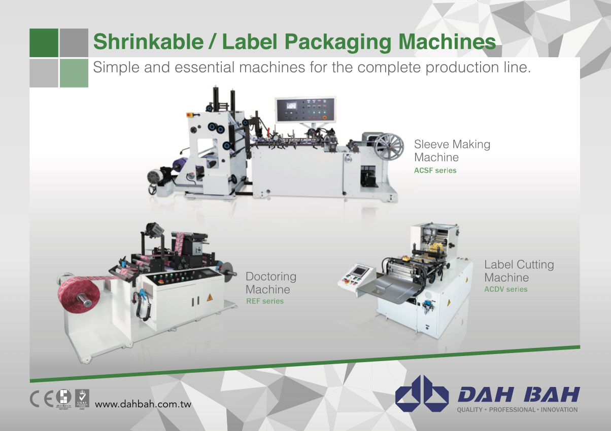 PVC Shrinkable Label Making Machine - ACSF-G Series