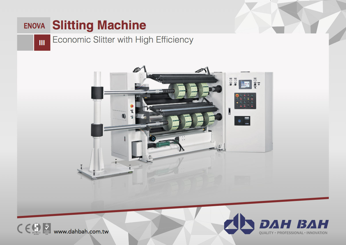 Economic Slitter with High Efficiency - Enova Series