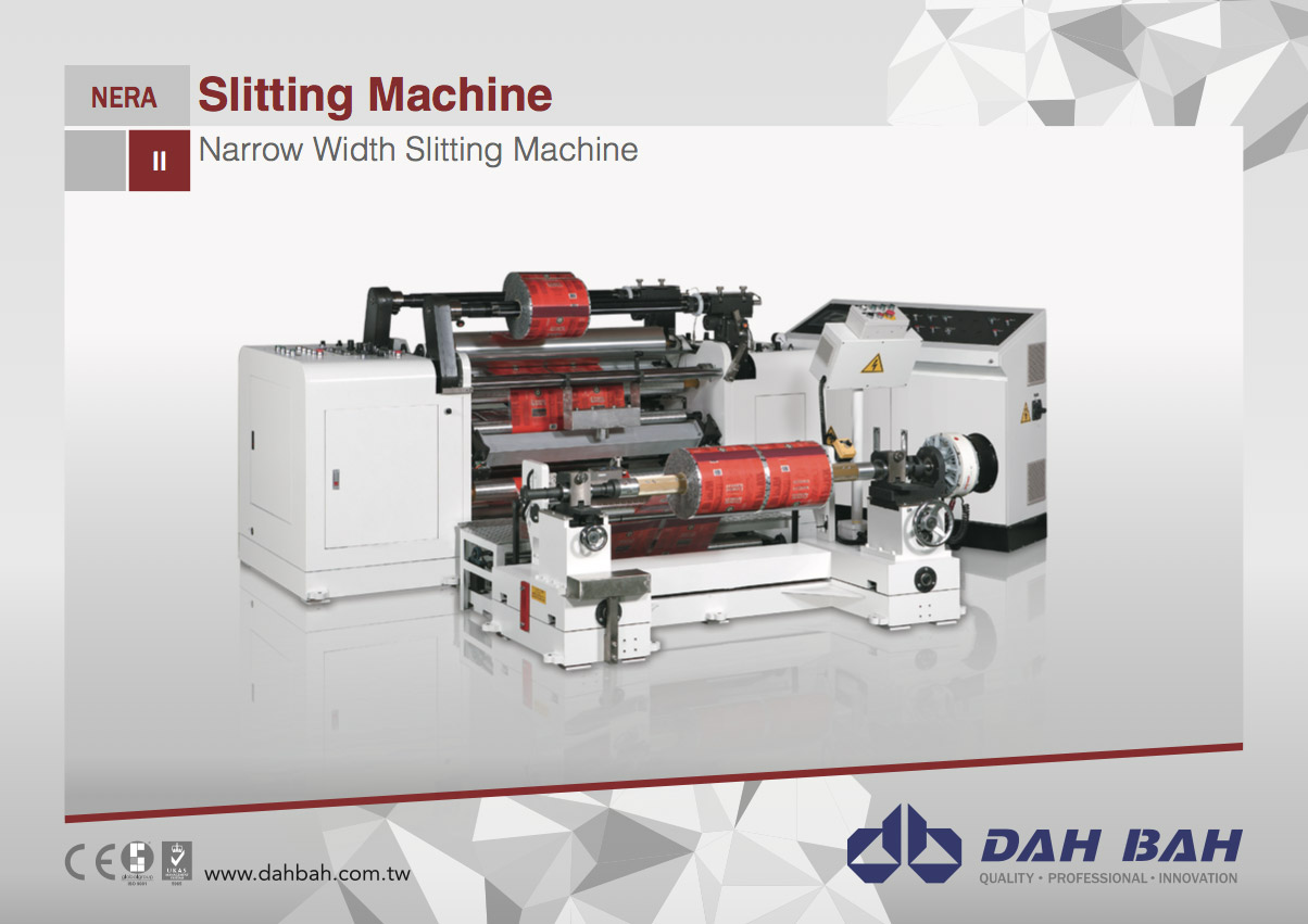 Narrow Width Slitting Machine  - Nera Series