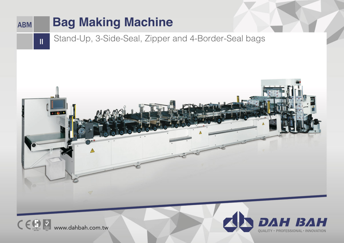 Bag Making Machine - ABM-SPZ Series