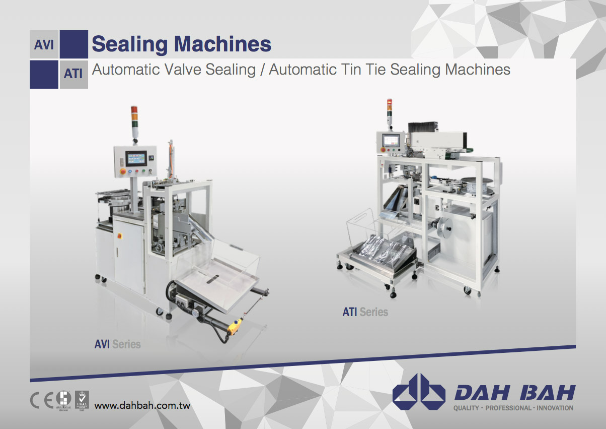 Sealing Machines - AVI/ATI Series